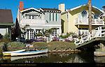 Canal Houses, Venice Canal, Abbot Kinney 1905, Venice, California