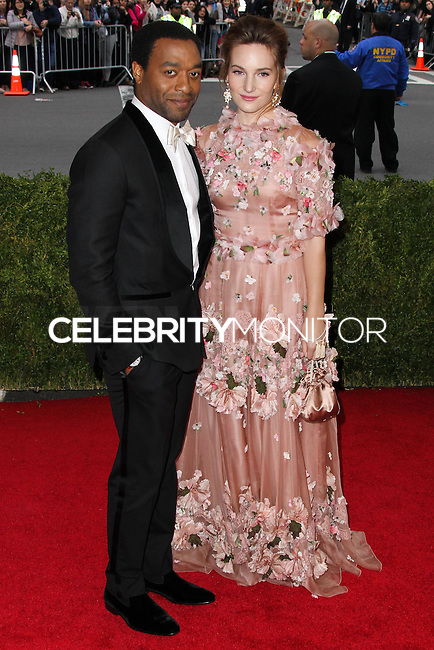 "NEW YORK CITY, NY, USA - MAY 05: Chiwetel Ejiofor, Sari Mercer at the ""Charles James: Beyond Fashion"" Costume Institute Gala held at the Metropolitan Museum of Art on May 5, 2014 in New York City, New York, United States. (Photo by Xavier Collin/Celebrity Monitor)"