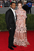 """NEW YORK CITY, NY, USA - MAY 05: Chiwetel Ejiofor, Sari Mercer at the """"Charles James: Beyond Fashion"""" Costume Institute Gala held at the Metropolitan Museum of Art on May 5, 2014 in New York City, New York, United States. (Photo by Xavier Collin/Celebrity Monitor)"""
