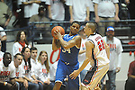 Kentucky's Julius Mays (34) vs. Ole Miss' Marshall Henderson (22) at the C.M. &quot;Tad&quot; Smith Coliseum on Tuesday, January 29, 2013. Kentucky won 87-74. (AP Photo/Oxford Eagle, Bruce Newman)..