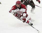 Alexander Kerfoot (Harvard - 14) - The visiting Brown University Bears defeated the Harvard University Crimson 2-0 on Saturday, February 22, 2014 at the Bright-Landry Hockey Center in Cambridge, Massachusetts.