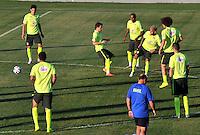 Brazil entrena en Fortaleza antes de su encuentro con Colombia, 04-07-2014
