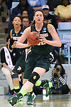 25 March 2014: Michigan State's Becca Mills. The University of North Carolina Tar Heels played the Michigan State University Spartans in an NCAA Division I Women's Basketball Tournament First Round game at Cameron Indoor Stadium in Durham, North Carolina. UNC won the game 62-53.