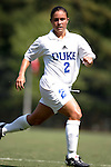 Carmen Bognanno, of Duke, on Sunday September 18th, 2005 at Koskinen Stadium in Durham, North Carolina. The Duke University Blue Devils defeated the University of San Diego Toreros 5-0 during the Duke adidas Classic soccer tournament.
