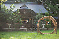 Chinowa at the Shrine.