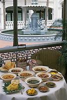"""Asie/Singapour/Singapour: Détail des """"Satays"""" et de leur sauce"""