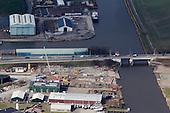 Luchtfotografie - Harlingen - Ombouw N31