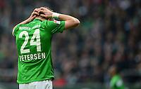 FUSSBALL   1. BUNDESLIGA   SAISON 2012/2013    24. SPIELTAG SV Werder Bremen - FC Augsburg                           02.03.2013 Nils Petersen (SV Werder Bremen)