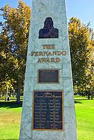 Fernando Award, Warner Center, San Fernando Valley, CA.  highest award for volunteerism