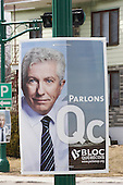 Gilles Duceppe billboard for the Bloc Quebecois