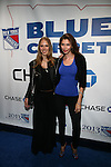 """Models Natasha Bernard and Alejandra Cata Attends NEW YORK Rangers ROLL OUT THE """"BLUE CARPET PRESENTED by Chase"""" FOR GAME THREE AGAINST WASHINGTON at Madison Square Garden, NY"""