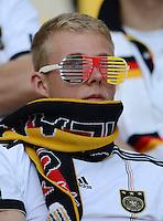 FUSSBALL  EUROPAMEISTERSCHAFT 2012   VORRUNDE Deutschland - Portugal          09.06.2012 Deutscher Fan