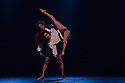 Danza Contemporanea de Cuba open at Sadler's Wells after a six week tour. The cast performs in Sombrisa by Itzik Galili. Picture shows Yelda Leyca and Yosmell Calderon.