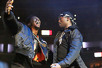 PHILADELPHIA, PA - OCTOBER 28 :  Designer and Meek Mill performing at Powerhouse 2016 at the Wells Fargo Center in Philadelphia, Pa on October 28, 2016  photo credit Star Shooter/MediaPunch