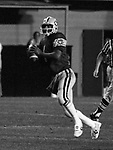 Warren Moon Edmonton Eskimos quarterback. Photo copyright Scott Grant.