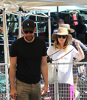 MAY 22 Emily Blunt and Husband John Krasinski Sighted in Studio City