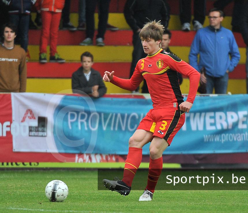 Georgia U19 - Belgium U19 : Gilles Ruyssen<br /> foto DAVID CATRY / Nikonpro.be