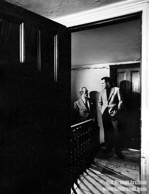 Lord Birkett and Harold Pinter