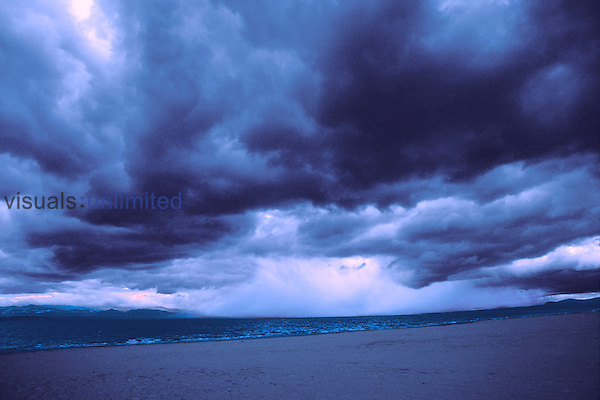 A storm over the west coast of Scotland.