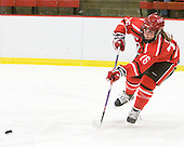 Kelly Sabatine (St. Lawrence - 16) - The Harvard University Crimson defeated the St. Lawrence University Saints 8-3 (EN) to win their ECAC Quarterfinals on Saturday, February 26, 2011, at Bright Hockey Center in Cambridge, Massachusetts.