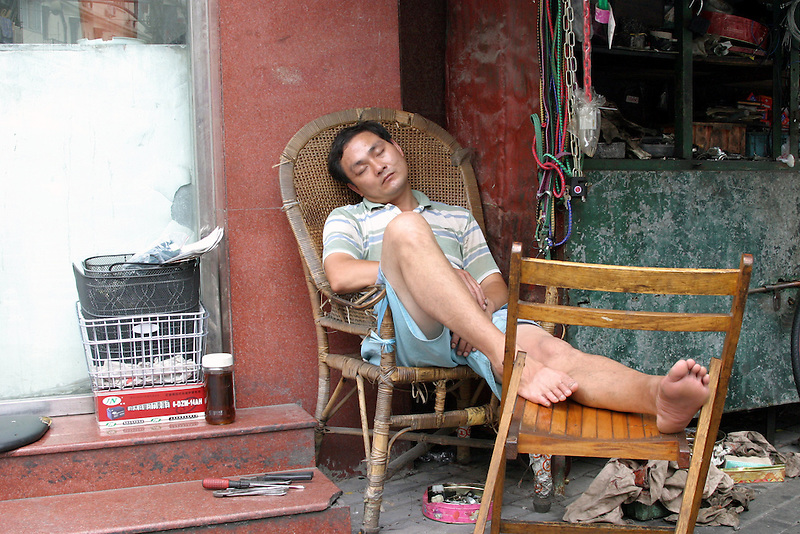 Chinese sleeping