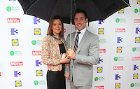 03/06/2014  <br /> PAddy Wallace &amp; tina Wallace <br /> during the Pride of Ireland awards at the Mansion House, Dublin.<br /> Photo: Gareth Chaney Collins