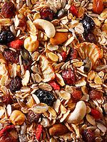 Goji berry, yacon root and seed museli