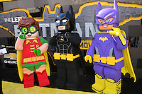 Legos at the world premiere of &quot;The Lego Batman Movie&quot; at the Regency Village Theatre, Westwood, Los Angeles, USA 4th February  2017<br /> Picture: Paul Smith/Featureflash/SilverHub 0208 004 5359 sales@silverhubmedia.com