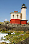 .Coquille River Lighthouse.Bandon, Oregon