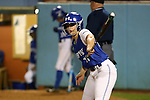 CHAPEL HILL, NC - FEBRUARY 24: Hampton's MacKenzie Wise. The Hampton University Pirates played the Towson University Tigers on February, 24, 2017, at Anderson Softball Stadium in Chapel Hill, NC in a Division I College Softball match. Towson won 17-2 in a five inning run-rule game.