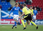 St Johnstone v St Mirren.....11.01.14   SPFL<br /> Murray Davidson and Marc McAusland<br /> Picture by Graeme Hart.<br /> Copyright Perthshire Picture Agency<br /> Tel: 01738 623350  Mobile: 07990 594431