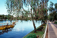 Philippines: Baguio--Burnham Park, the Lagoon. Photo '82.