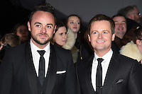 Ant McPartlin &amp; Declan Donnelley at the National TV Awards 2017 held at the O2 Arena, Greenwich, London. <br /> 25th January  2017<br /> Picture: Steve Vas/Featureflash/SilverHub 0208 004 5359 sales@silverhubmedia.com
