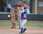 Philip Neilson batsin Oxford Park Commission baseball action at FNC Park in Oxford, Miss. on Monday, April 18, 2011. Monday's games marked the start of the 2011 season.