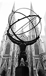 Atlas Statue across from St. Patrick's Cathedral in New York, New York, USA