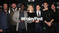 NEW YORK, NY-October 19:Benedict Samuel, Drew Powell, Chris Chalk, Erin Richards, Ben McKenzie, Cory Michael Smith, Donal Logue at PaleyFest New York presents Gotham at the Paley Center for Media in New York.October 19, 2016. Credit:RW/MediaPunch