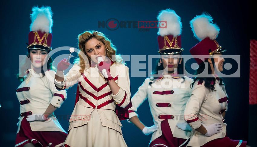 LAS VEGAS, NV - October 13:  Madonna performs at MGM Grand Garden Arena on October 13, 2012 in Las Vegas, Nevada. &copy; Kabik/ Starlitepics/MediaPunch Inc. /NortePhotoAgency .<br /> &copy;NortePhoto
