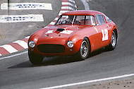 August 26th 1984, Laguna Seca Raceway, CA. 1953 Ferrari 375 MM.