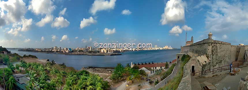 Castillo el Morro Havana Cuba CGI Backgrounds, ,Beautiful Background