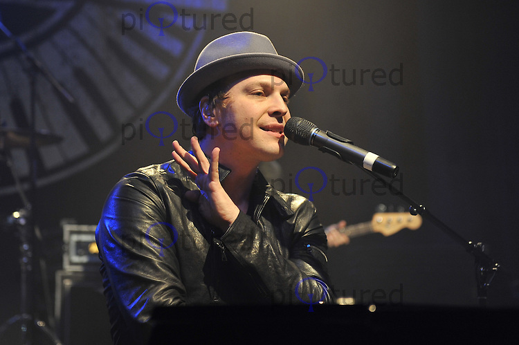 LONDON - FEBRUARY 14. Gavin DeGraw performing live in concert at Shepherd's Bush Empire, London, England on February 14, 2012. (Photo by Awais Butt)