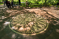 Imagine, Strawberry Fields, Central Park, Manhattan, New York City, New York, USA