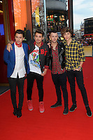 MAR 06 Union J M&Ms launch, London.