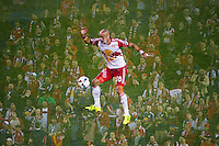 HARRISON, NJ - Wednesday May 18, 2016: ***Multiple Exposure Made In-Camera***  The New York Red Bulls defeated the Chicago Fire 1-0 at home at Red Bull Arena during the 2016 MLS regular season.