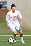 11 November 2008: NC State's Chris Zuerner. North Carolina State University Wolfpack defeated the Virginia Tech Hokies 3-1 at Koka Booth Stadium at WakeMed Soccer Park in Cary, NC in a men's ACC tournament first round game.