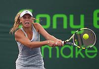 Caroline WOZNIACKI (DEN) against Tzvetana PIRONKOVA (BUL) in the second round of the Women's singles. Wozniacki beat Pironkova .3-6 6-3 6-4..International Tennis - 2010 ATP World Tour - Sony Ericsson Open - Crandon Park Tennis Center - Key Biscayne - Miami - Florida - USA - Fri 26 Mar 2010..© Frey - Amn Images, Level 1, Barry House, 20-22 Worple Road, London, SW19 4DH, UK .Tel - +44 20 8947 0100.Fax -+44 20 8947 0117