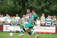 VOETBAL: DE KNIPE: 16-07-2013, Oefenwedstrijd SC Heerenveen - Leuven, Einduitslag 2-1, Pele van Anholt, ©foto Martin de Jong