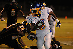 Oxford High's Stan Ivy (6) runs vs. Charleston in Charleston, Miss. on Friday, August 26, 2011. Oxford won.