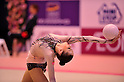 Alina Maksymenko (UKR), ..OCTOBER 28, 2011 - Rhythmic Gymnastics : AEON CUP 2011 Worldwide R.G. Club Championships at Tokyo Metropolitan Gymnasium, Tokyo, Japan. (Photo by Jun Tsukida/AFLO SPORT) [0003] ..