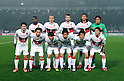 Nagoya Grampus team group line-up,.MARCH 17, 2012 - Football / Soccer :.Nagoya Grampus team group shot (Top row - L to R) Danilson, Marcus Tulio Tanaka, Joshua Kennedy, Takahiro Masukawa, Seigo Narazaki, (Bottom row - L to R) Keiji Tamada, Shohei Abe, Kensuke Nagai, Keiji Yoshimura, Mu Kanazaki and Hayuma Tanaka before the 2012 J.League Division 1 match between F.C.Tokyo 3-2 Nagoya Grampus Eight at Ajinomoto Stadium in Tokyo, Japan. (Photo by AFLO)