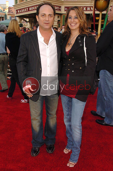 Kevin Pollak and Lucy Webb<br />at the premiere of Disney's &quot;Pirates of the Caribbean: Dead Man's Chest&quot;. Disneyland, Anaheim, CA. 06-24-06<br />Scott Kirkland/DailyCeleb.com 818-249-4998